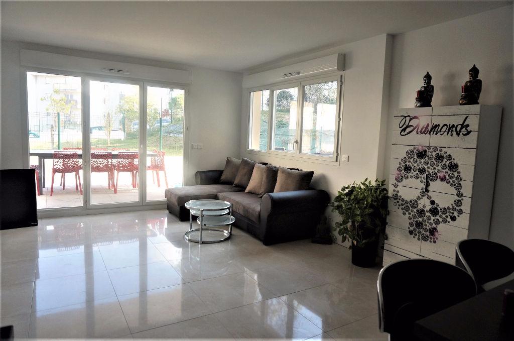A vendre appartement T3 de 70 m² avec jardin privatif  La Croix Rouge 13013 Marseille