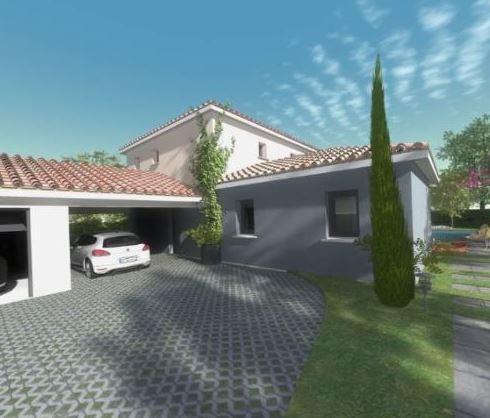 Projet villa neuve T5 de 130 m² sur 700m² 13190 ALLAUCH