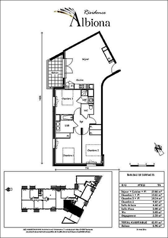 A Vendre TOULOUSE 31300 Appartement T4 82 m2