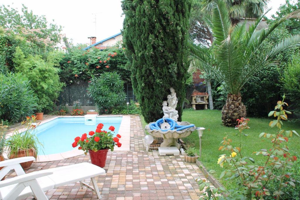 A Vendre  Toulouse CROIX DE PIERRE : Belle maison 240 m² hab, jardin, piscine et garage
