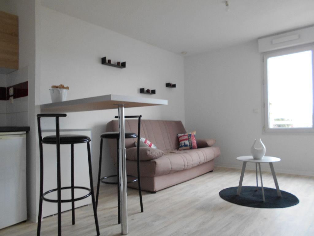 A VENDRE TOULOUSE PURPAN  : Studio de 26,50 m²,résidence fermée Parking en sus