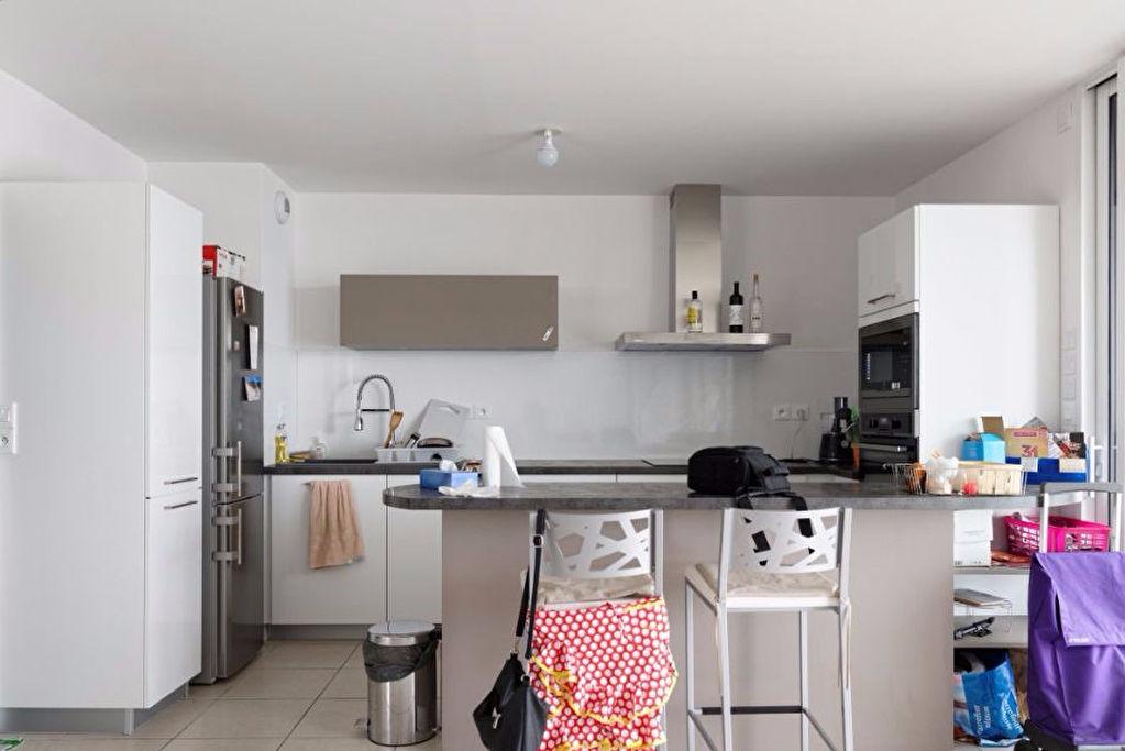 A Vendre TOULOUSE LA CARTOUCHERIE : Appartement T4 87 m² hab résidence récente avec terrasse et parking