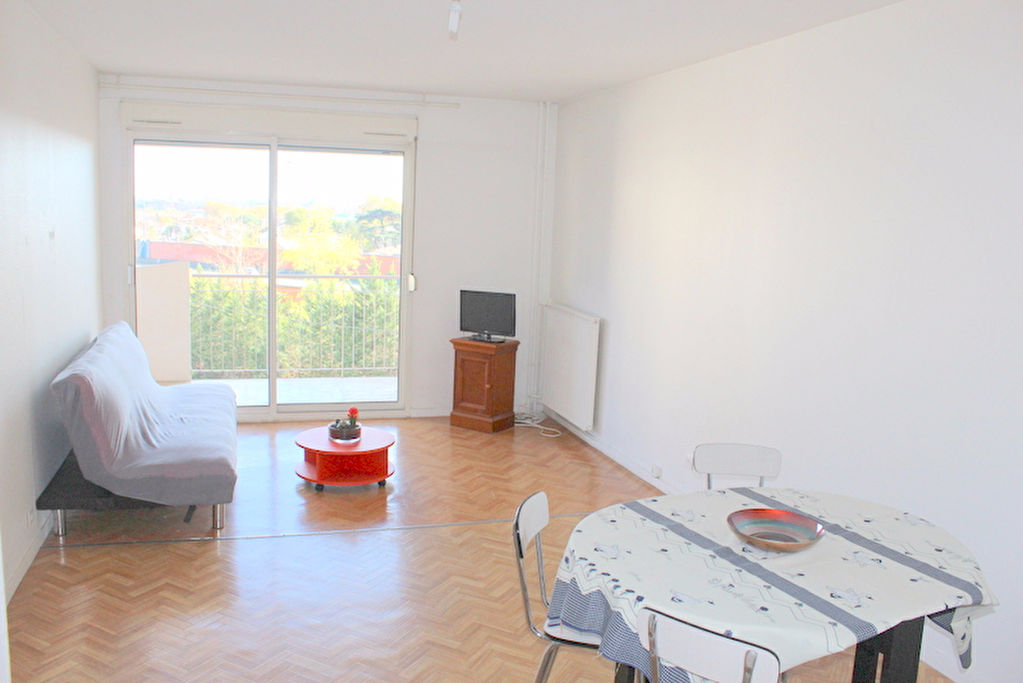 A VENDRE Appartement TOULOUSE  (Proche Hôpital Purpan) :  T2 55 m², parking, cave