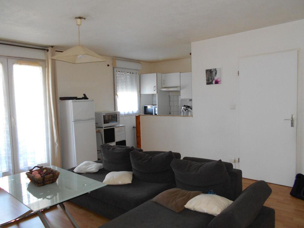 A Vendre TOULOUSE ST SIMON : T3, 48 m² hab env, parking, balcon, résidence fermée