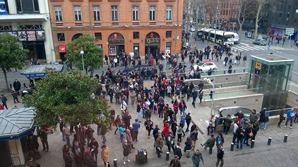 Toulouse Jean-Jaurès - immeuble 5 lots  212 m²