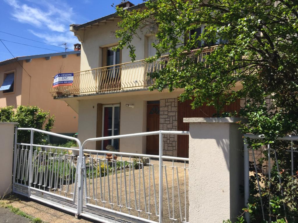 A VENDRE : Entre Fontaine Lestang  et Mermoz : Maison à étage 110 m² , 2 garages, parcelle de 305 m².