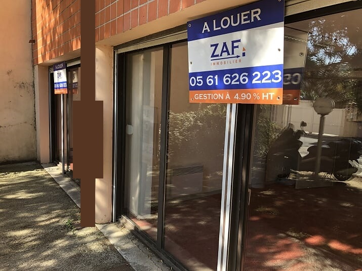 LOCAL PRO/COMMERCIAL T3 68 m² / BOURRASSOL
