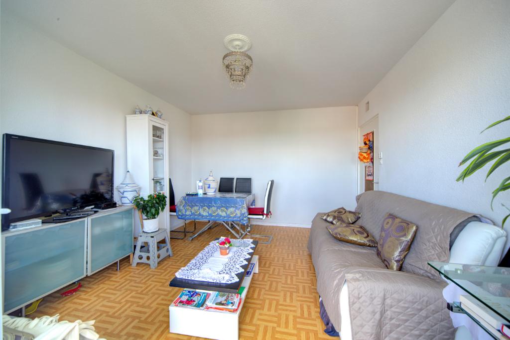 A VENDRE TOULOUSE Bourrassol : Appartement T4, 70 m² hab env, balcon, immeuble sécurisé